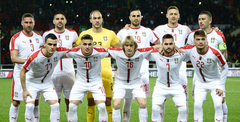 セルビア代表、23人のW杯メンバーを発表!リヴァプール選手も(2018/6/1)