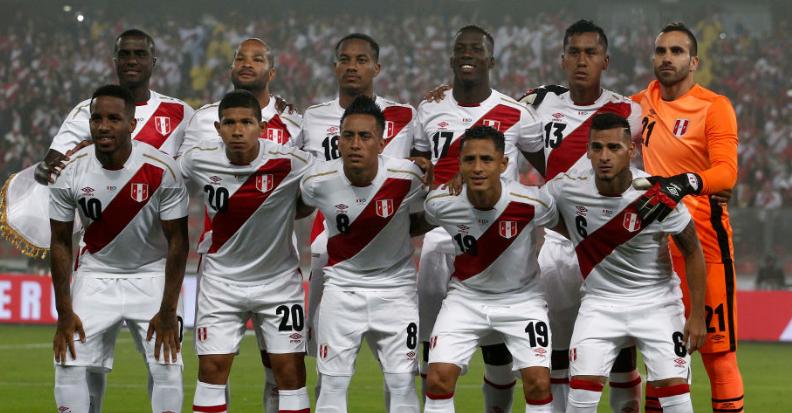ペルー代表、23人のW杯メンバー...