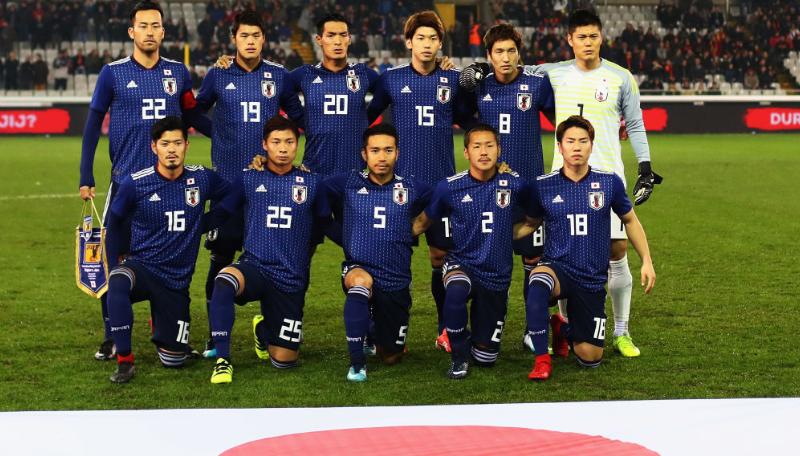 日本代表、「2018年W杯優勝確率」がなんとイングランド超え10位に!