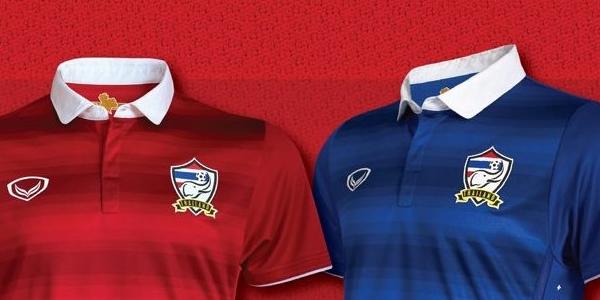 Qoly - Football Web Magazineタイ代表、スズキカップ2014に向けたエレガントな新ユニフォームを発表