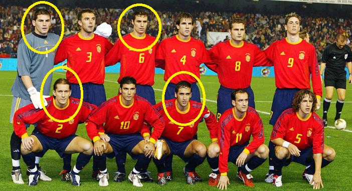 スペイン代表、13年ぶりにレアル...