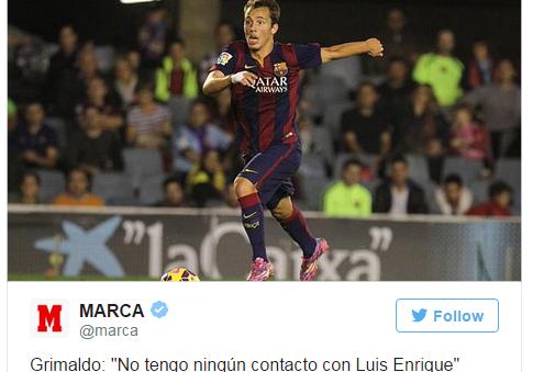 バルセロナBのキャプテンがルイス・エンリケ監督を批判か