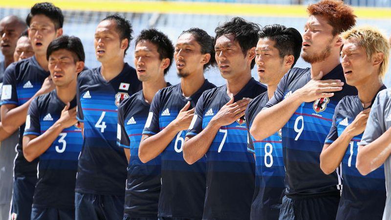 ビーチサッカー日本代表、前回王...