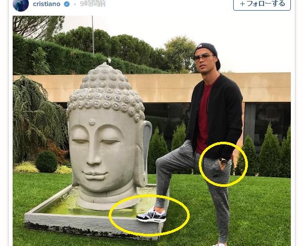 C・ロナウド、Instagramが大炎上…仏教徒たちが激怒