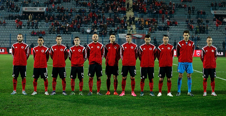 アルバニア代表、EURO2016の登録...