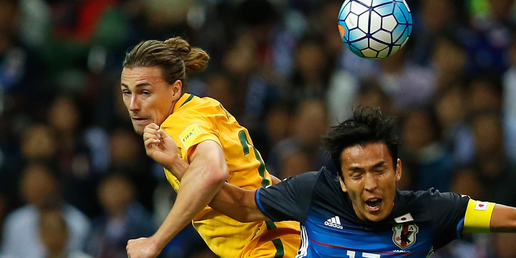 日本に屈したオーストラリア代表...