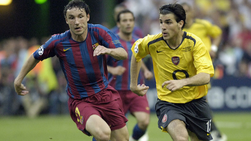 ユニフォームで振り返るCL決勝~2005-06 バルセロナ対アーセナル