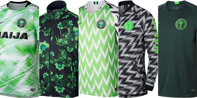 Qoly - Football Web Magazine世界が注目するナイジェリア代表チームウェア、ついに正式リリースだ!
