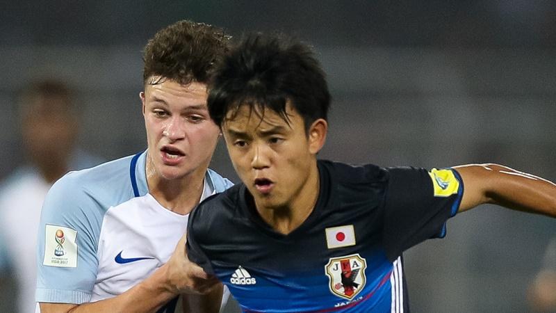久保建英がゴール!U-19日本代表...