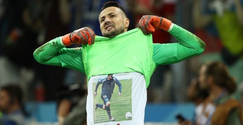 W杯準優勝のクロアチア、守護神...