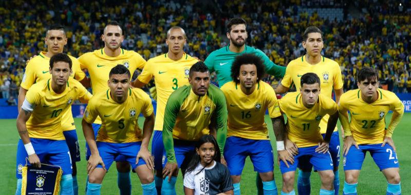 ブラジル代表メンバー発表、D・...
